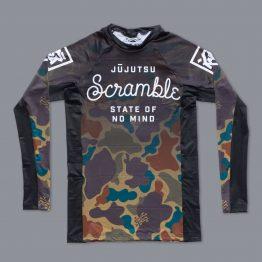 "Scramble ""No Mind"" Camo / Fade Rashguard"