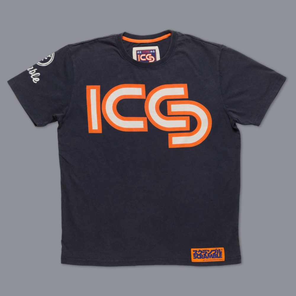 "Scramble ""Kazushi Sakuraba"" Official T-Shirt"