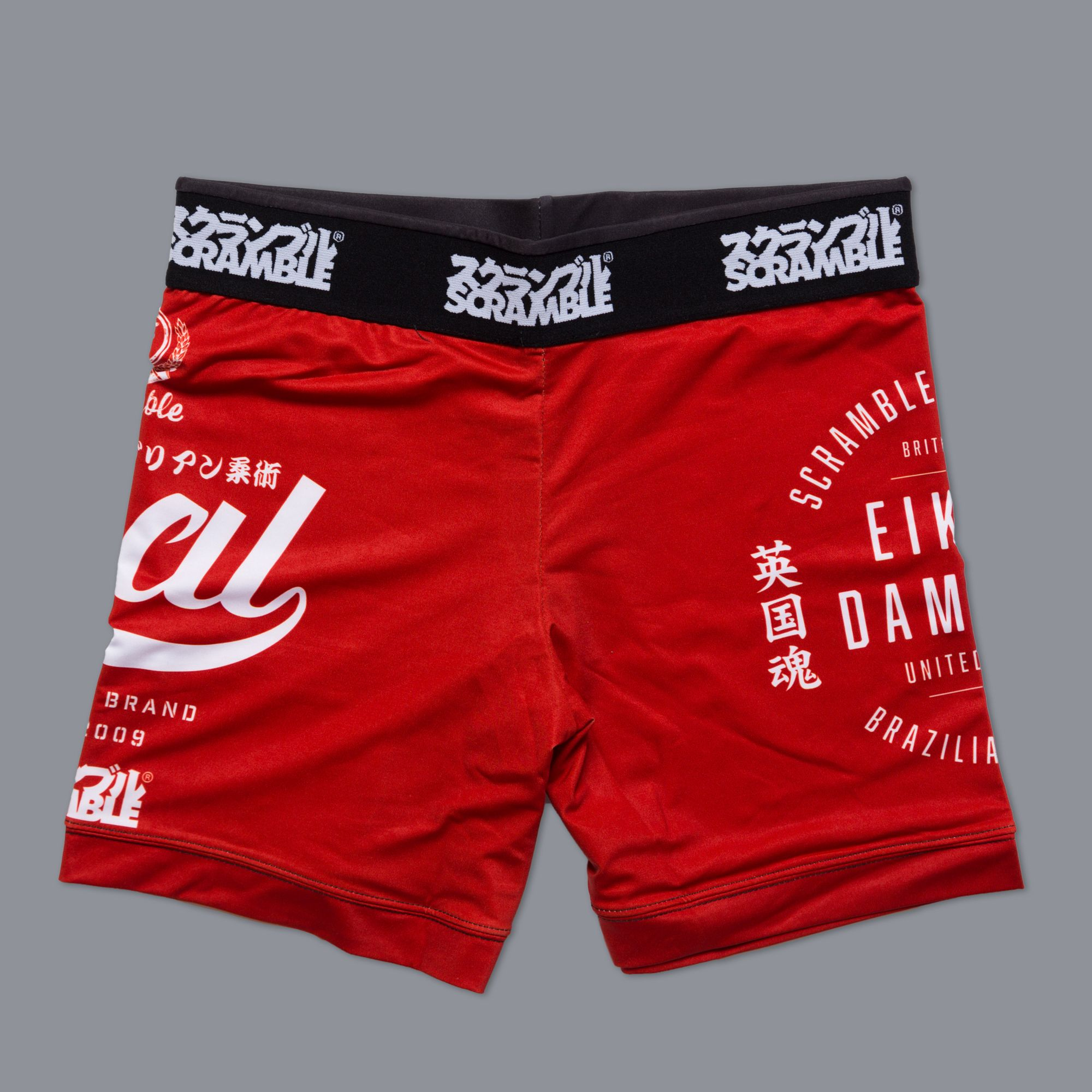 scramble-real-vale-tudo-shorts-red
