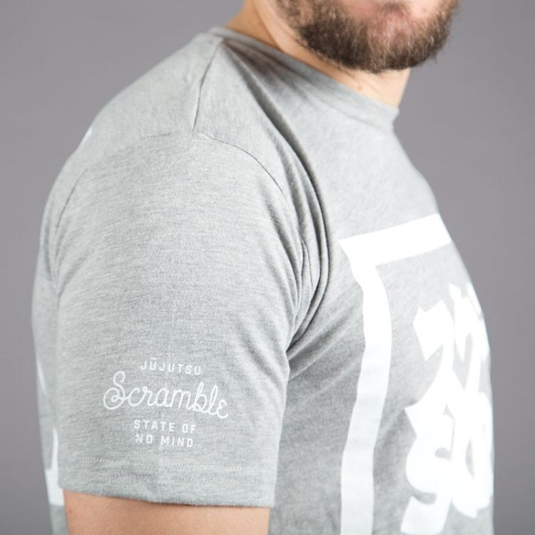"Scramble ""Split Logo""  T-Shirt - Grey"