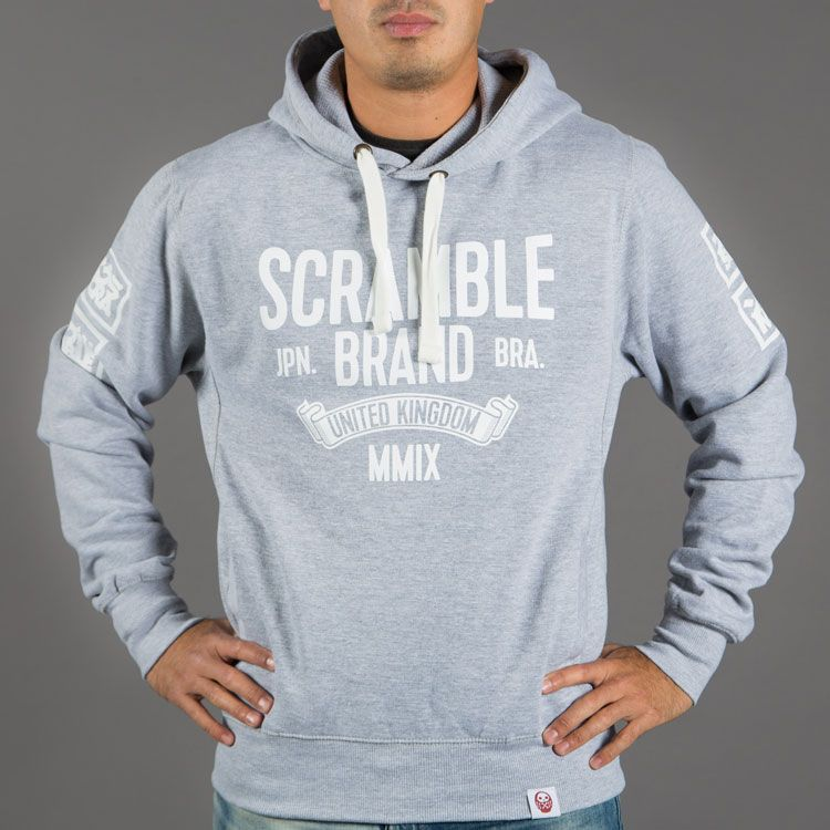 Scramble MMIX Hoody - Heather Grey