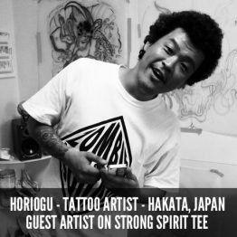 """Scramble / SCR """"Strong Spirit"""" T-shirt"""