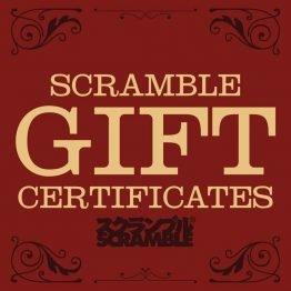 Scramble Gift Certificate