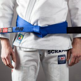 Scramble BJJ Belt - Blue