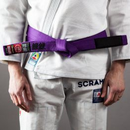 Scramble BJJ Belt - Purple