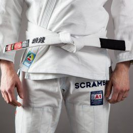 Scramble BJJ Belt - White