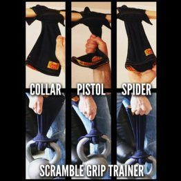 Scramble Grip Trainers - Ninja Black