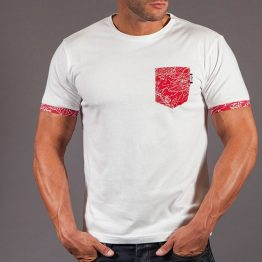 Scramble Irezumi Pocket T-Shirt White