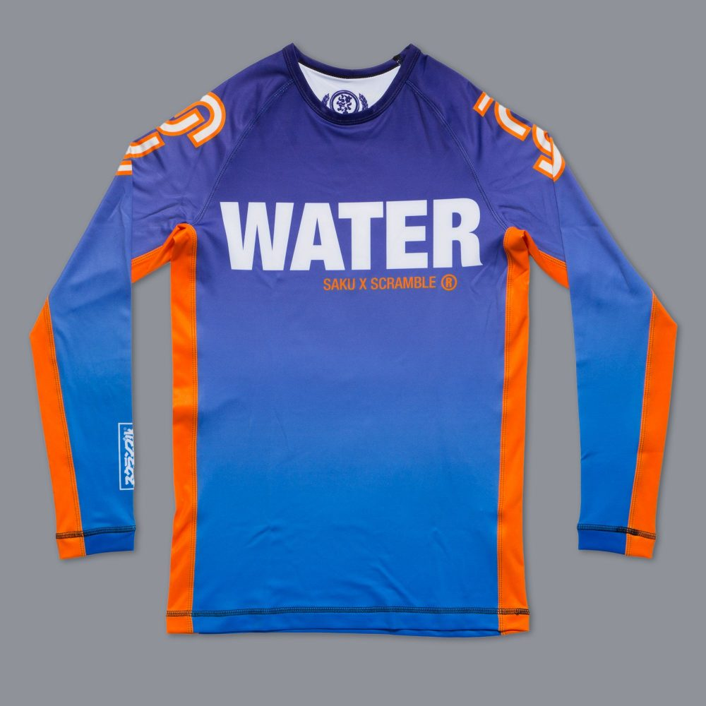 "Scramble x Sakuraba ""Water"" Rashguard"
