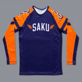 """Scramble x Sakuraba """"Saku Wrestling"""" Rashguard"""