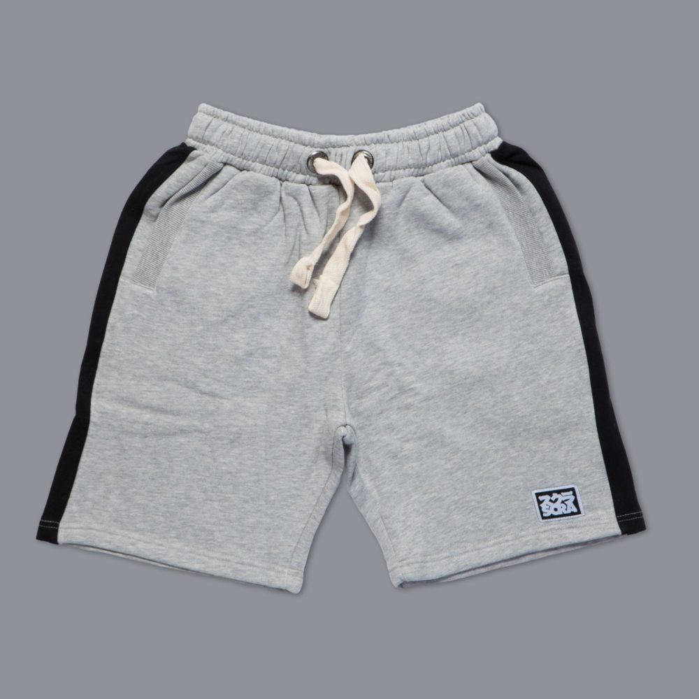 Scramble 'State of No Mind' Casual Shorts - Grey