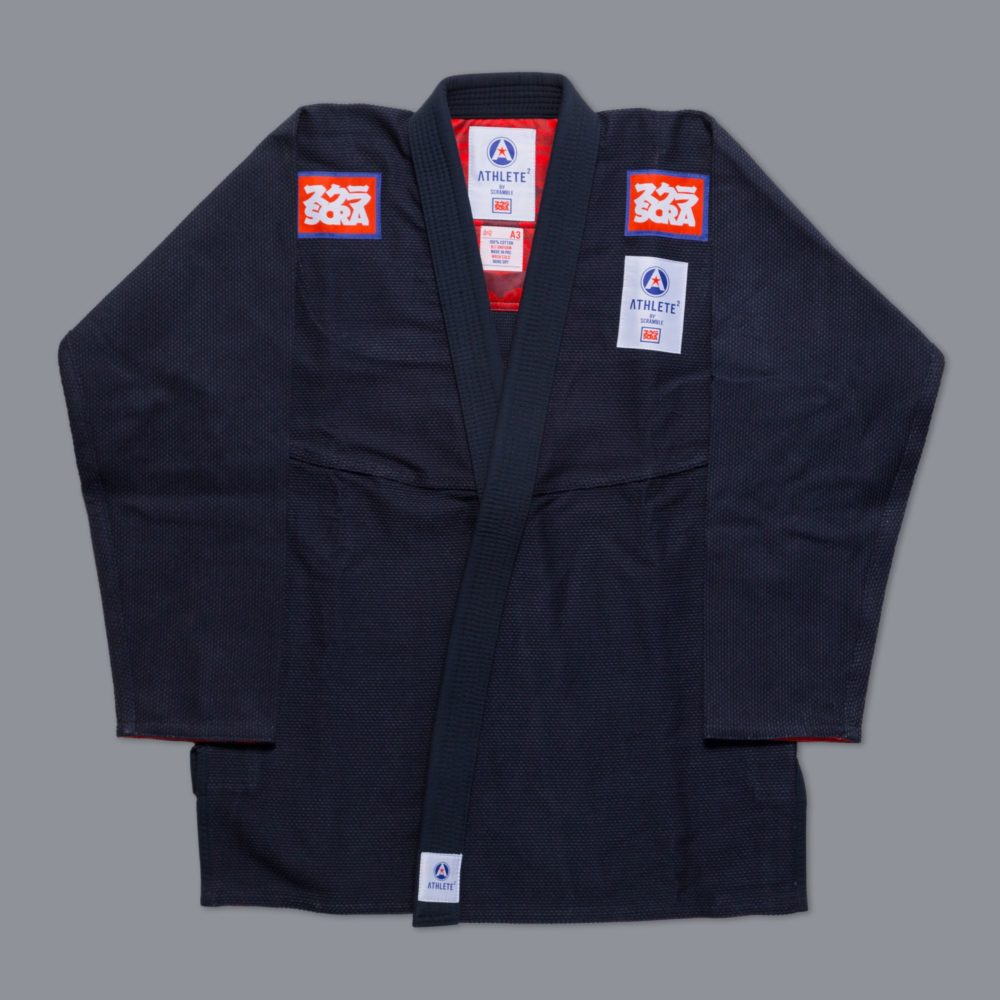 """Scramble """"Athlete 2"""" Kimono - Navy"""