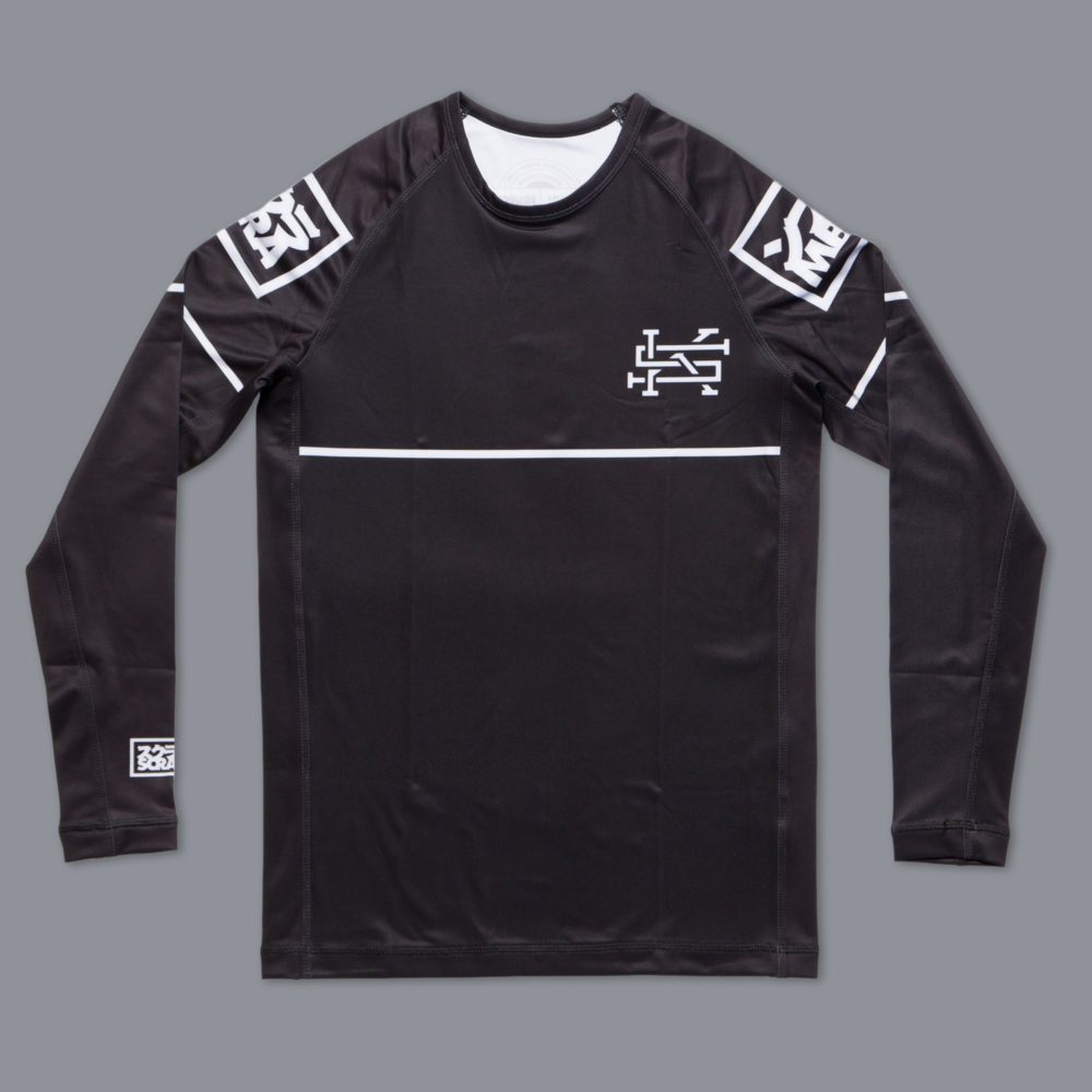 Scramble Ranked Rashguard (V2) - Black