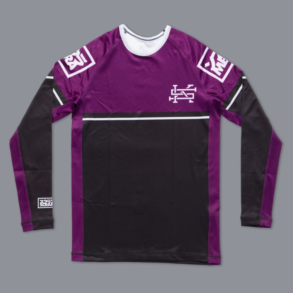 Scramble Ranked Rashguard (V2) - Purple